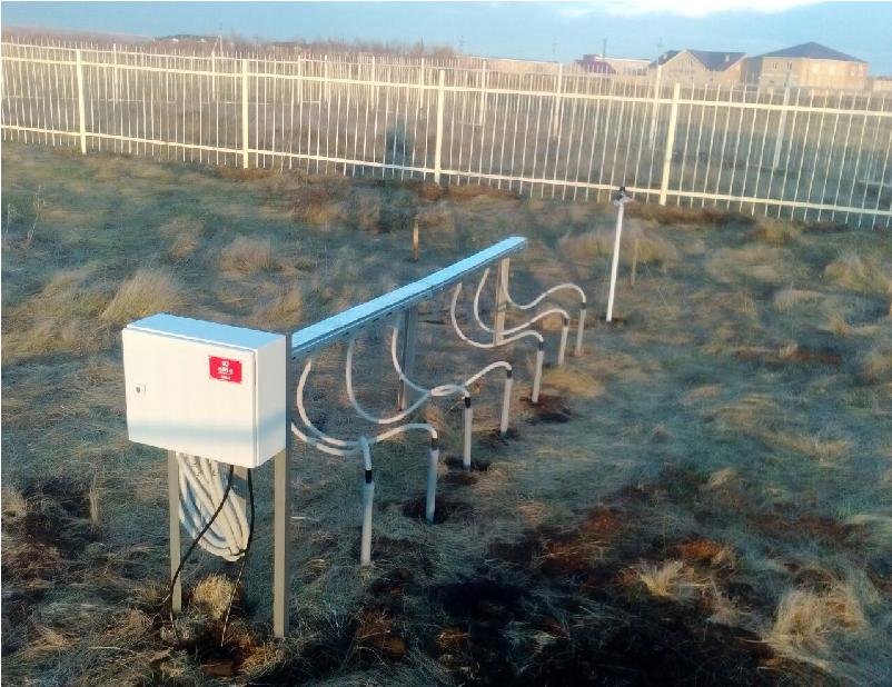 Дистанционная установка глубинно-вытяжных термометров АМТ-5